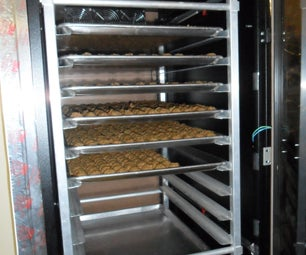 Server Cabinet to Food Dehydrator, Arduino Controlled