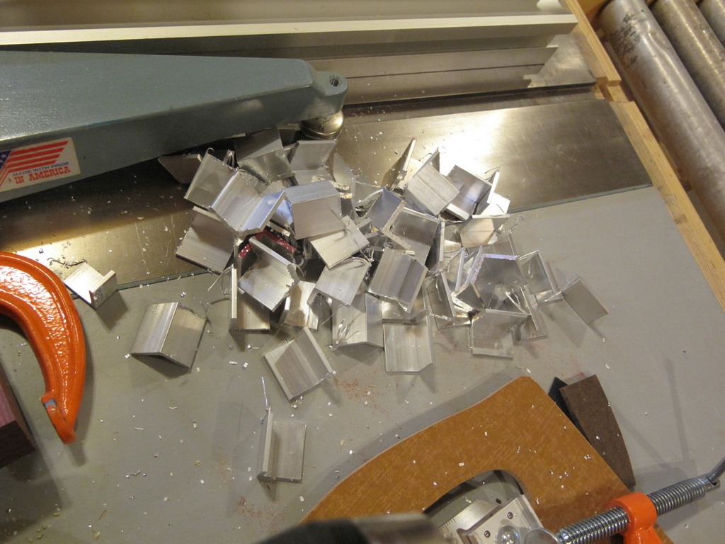 """Picture of Making the """"Glass Clips"""""""