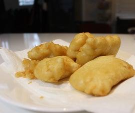 Club Soda Fried Fish