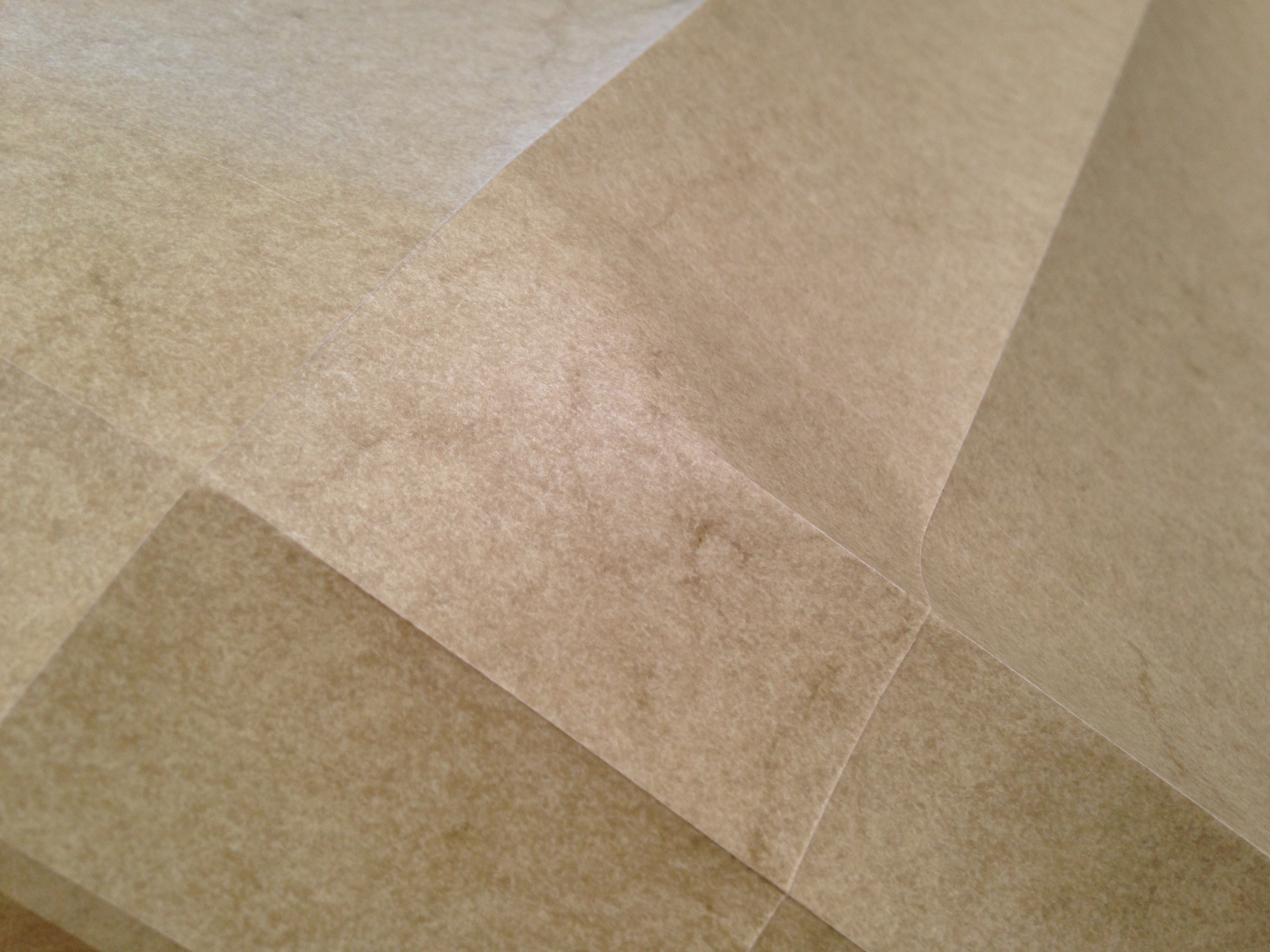 Picture of Laser Etched Paper for Folding Complex Forms