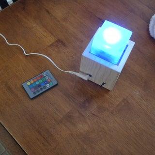 LED Resin Cube V3