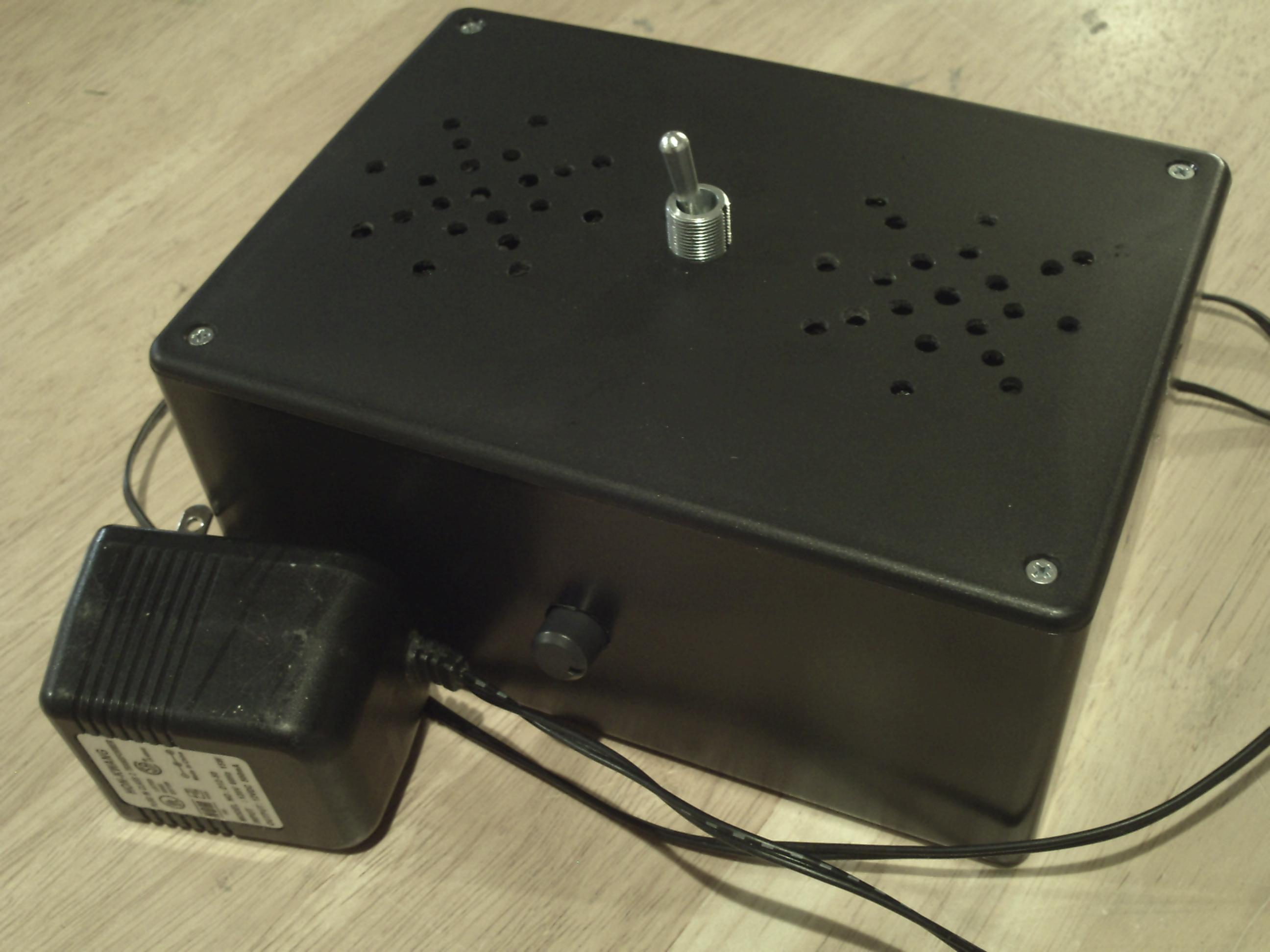 Picture of Raspberry Pi Rain Box