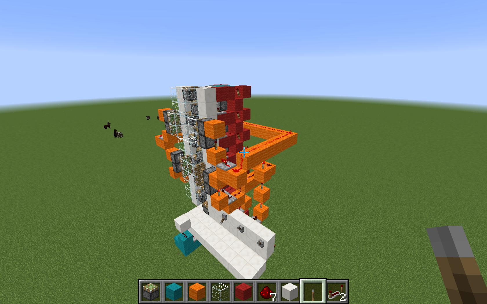Picture of Multi-floor Redstone Elevator