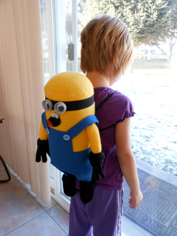 Kids Minion Back Pack