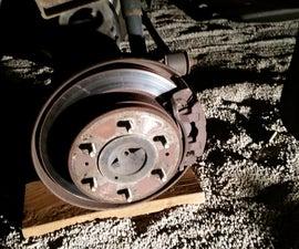 Change disk brake pads