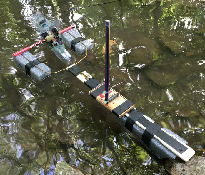 Picture of Mousetrap Powered Boat