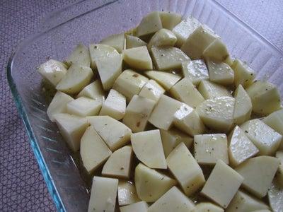Add Oil, Lemon Juice and Water.