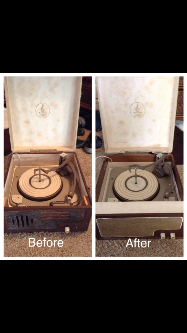Picture of Tube Record Player Restoration