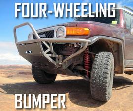 Custom Steel Bumper for Off-road Truck