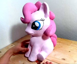 DIY Pony Bank Using Nutella Jar and Air Dry Paper Clay
