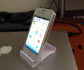 5 Minutes iPhone Holder. Soporte iPhone en 5 minutos.