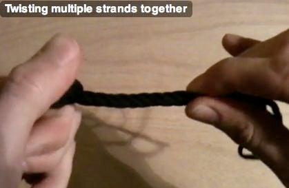 Properly Twisting Strands