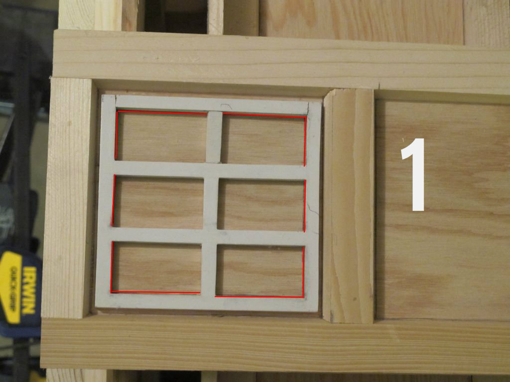 Picture of Cutting Out the Window Openings
