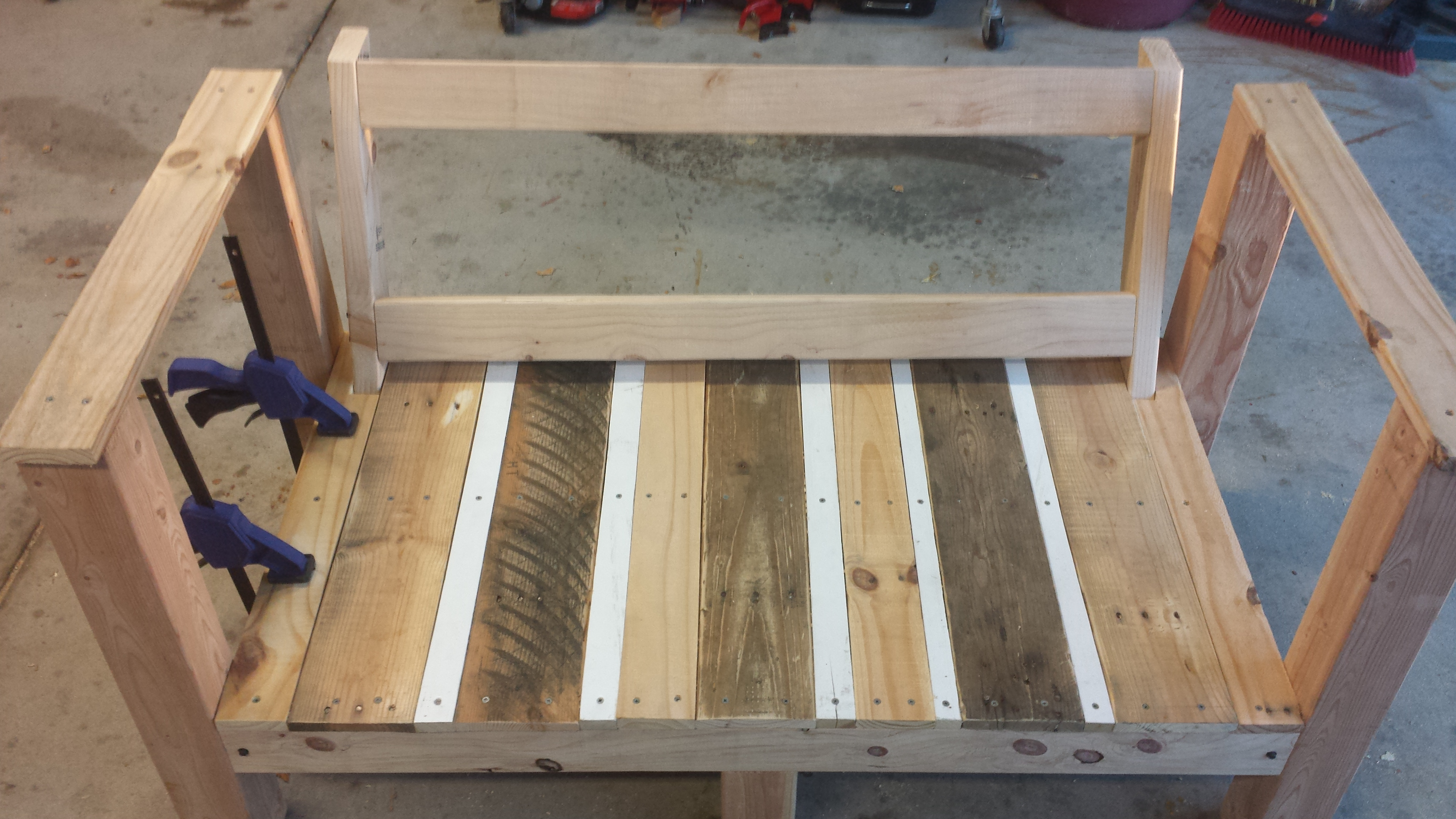 Picture of Adding the Seat/Backrest/Armrest Boards