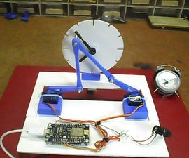 3D Printed Kinetic Servo Clock