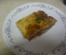 How to cook a Greek Moussaka