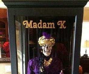 Madam K Skeleton Fortune Teller
