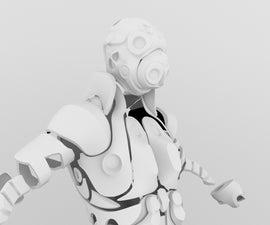 3D printed Modern Armor