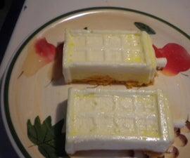 Tardis Cheesecakes - Orange Dreamsicle Flavored