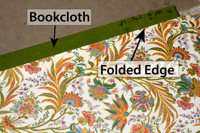 Picture of Glue Cover Paper to Front & Back Cover Bookboards