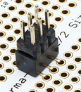 Picture of Chip Socket and ICSP Header