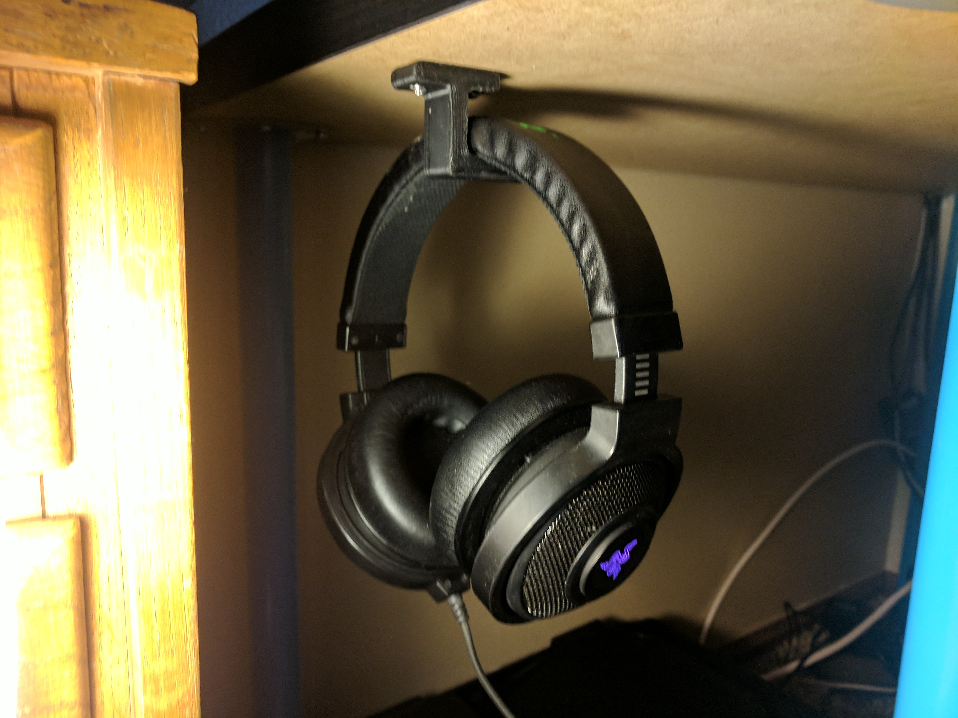 Picture of Under Desk Headphone Hook