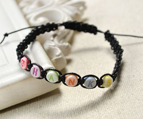 How To Make A Simple Friendship Bracelet With Letters