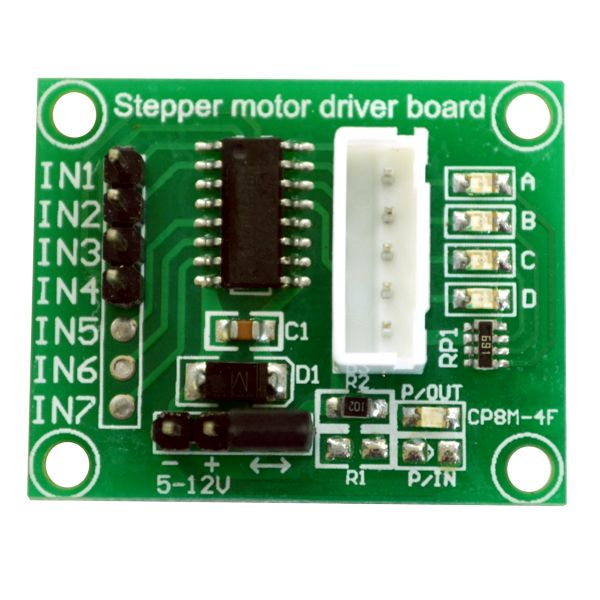 Stepper Motor Driver Board,Stepper Motor Driver 5pcs ULN2003 Stepper Motor Driver Board Module for 28BYJ-48 Stepper Motor