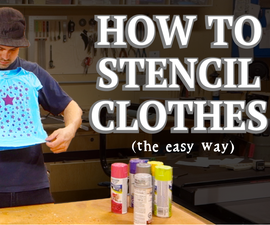 How to Stencil Clothing