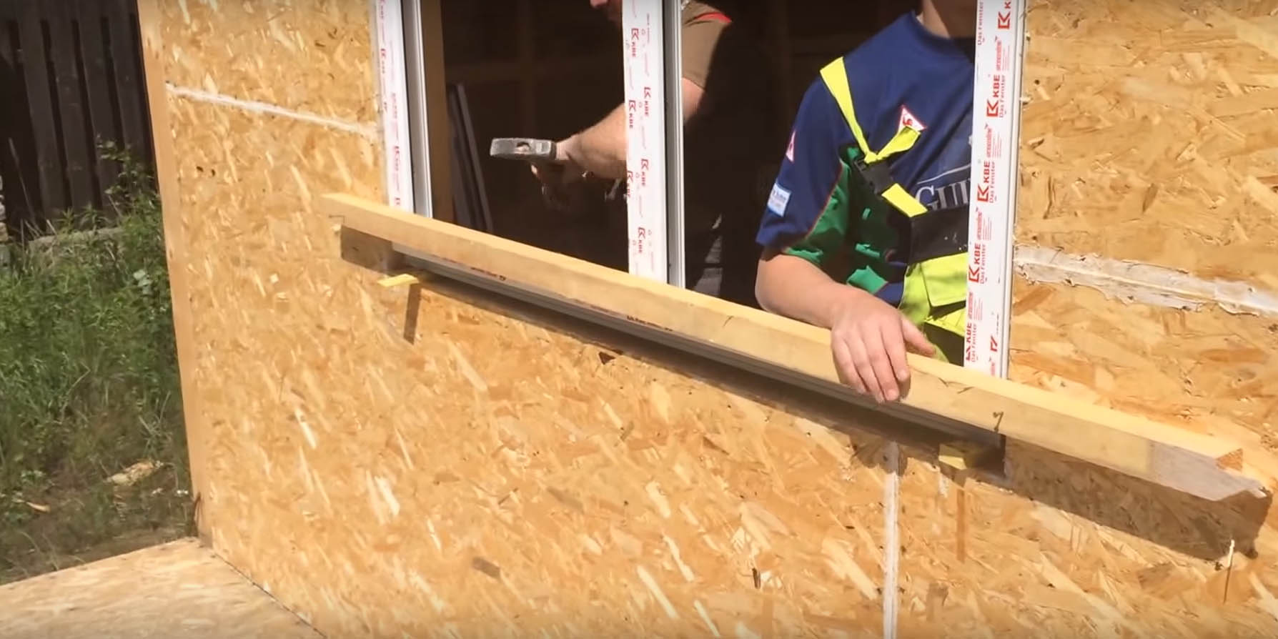 Picture of Install the New Window