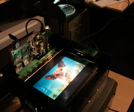 Cheap Improved LCD Overhead Projector