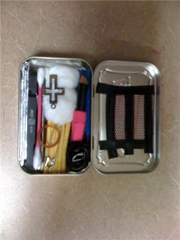 Ultimate Altoid Survival Kit
