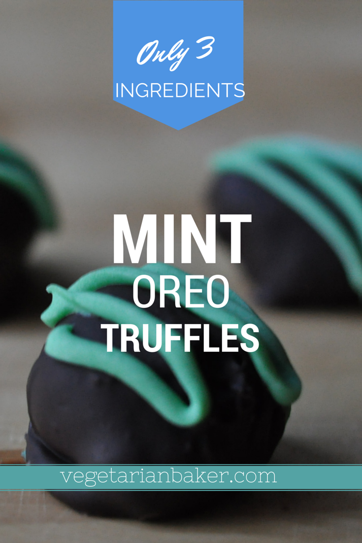 Picture of How to Make Mint Oreo Truffles