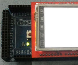 "How to use 2.4"" TFT LCD Shield with Arduino Mega"