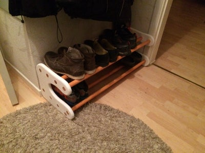 And Your Shoe Rack Is Done!