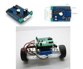 Making a Mini Self-balancing Car in Two Steps