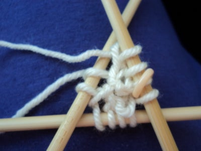 Counting a Lot and Adding a Double Pointed Needle