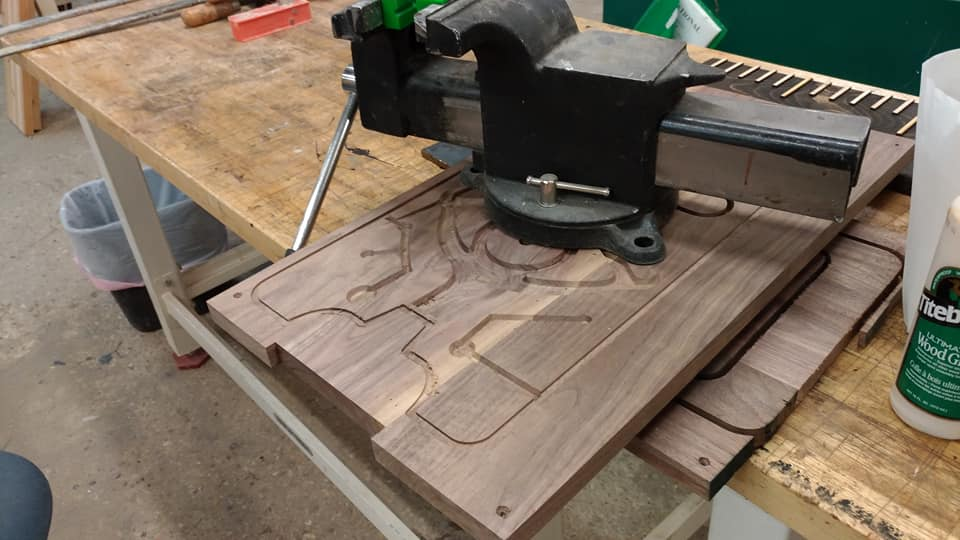Picture of Preparing the Inlay