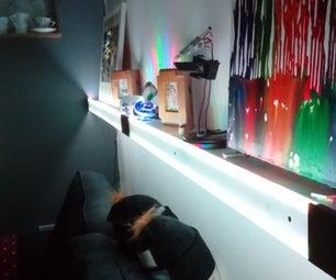 Light Up Display Shelf