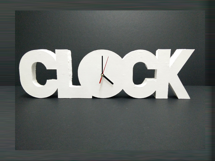 Picture of Polystyrene Clock