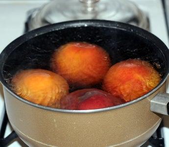 Prepare Peaches