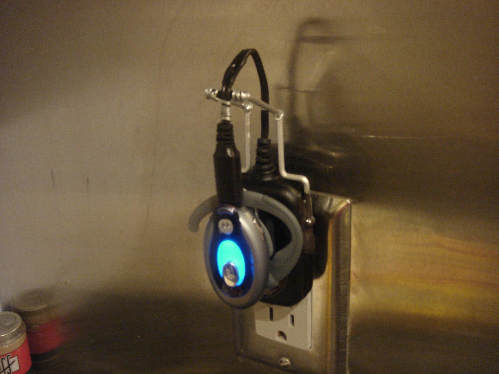 00821304e4e Shorten Your BT Headset Charger Cord & Make a Dock - Motorola HS850