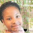 Halo Braid Hair Tutorial