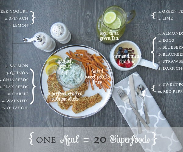 Superfood Fish & Chips Meal