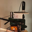 Motorized Plunge PCB Drill Using a USB Microscope