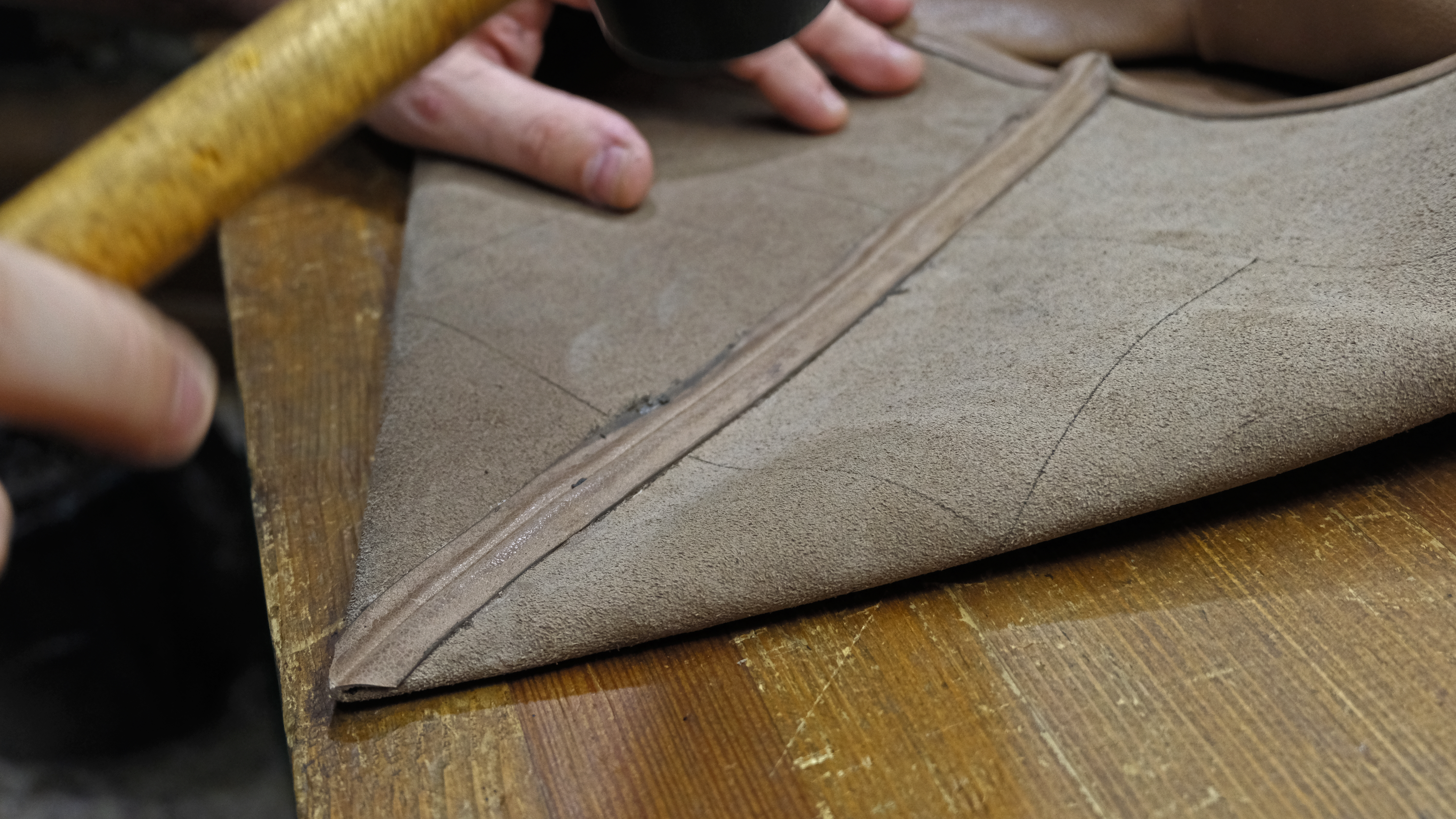 Picture of Prepare the Bottom Angle of the Bag