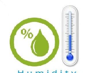 Measuring Humidity Using Sensor (DHT11)