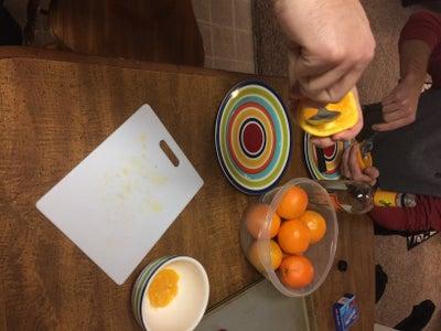 Prepare the Oranges