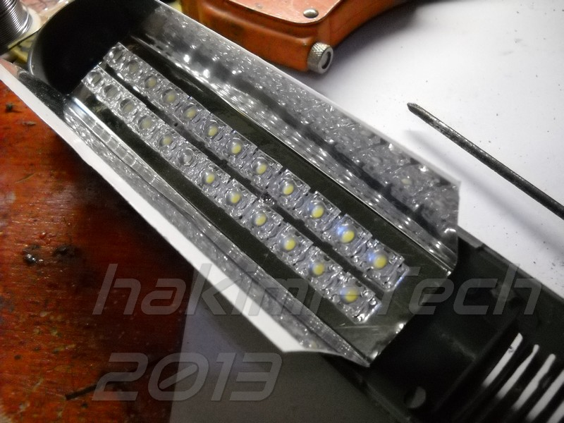 Picture of LED Board Mounting and Finishing