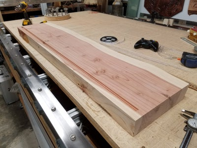 Cutting the Board and the Routed Channel